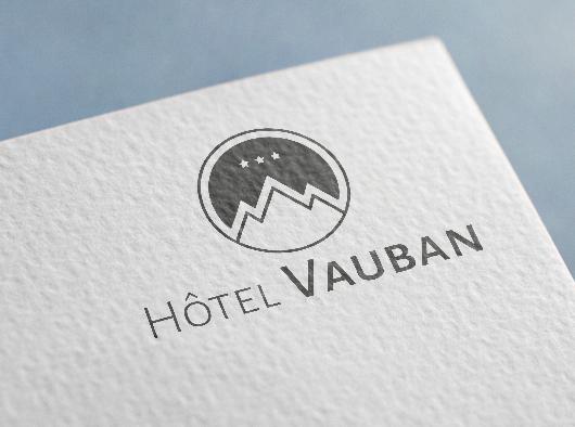 Hôtel Vauban - Identité visuelle