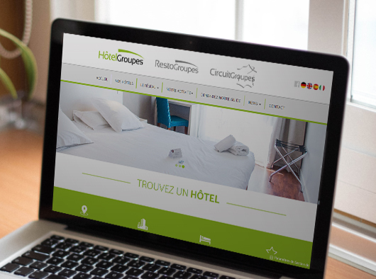 Hotelgroupes - Site web