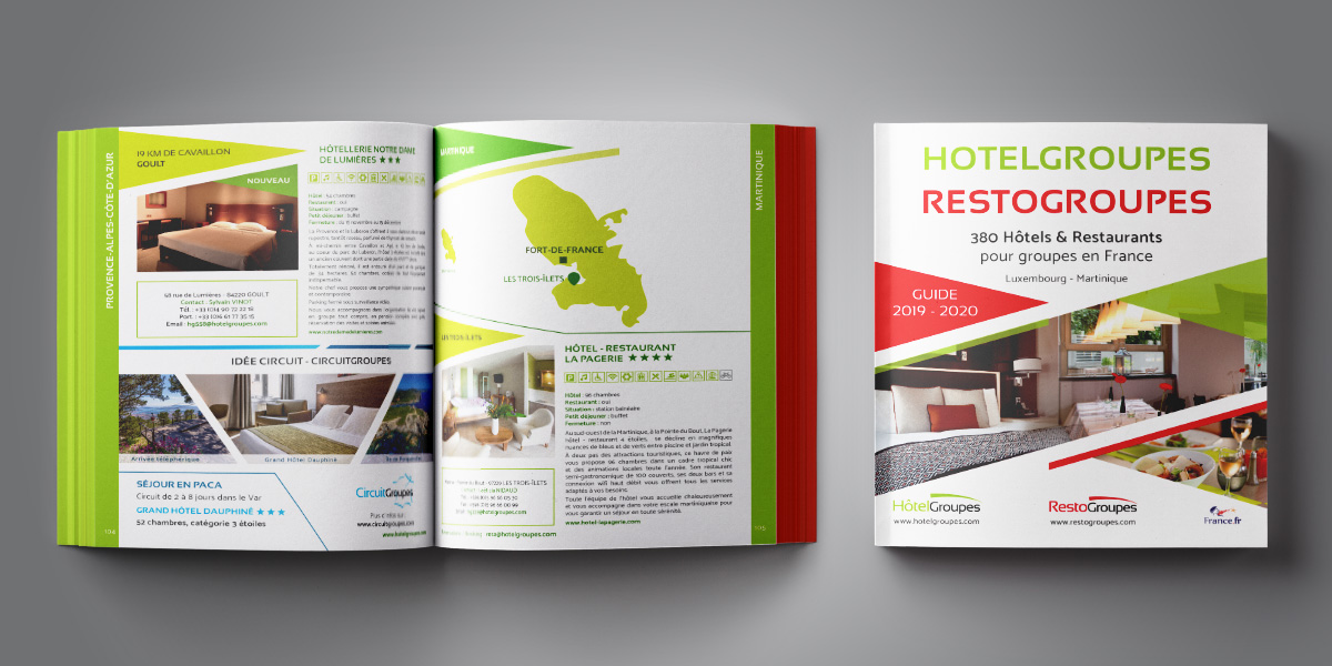 Hotelgroupes - Restogroupes - Brochure