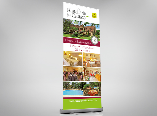 Hostellerie du Causse - Roll-up