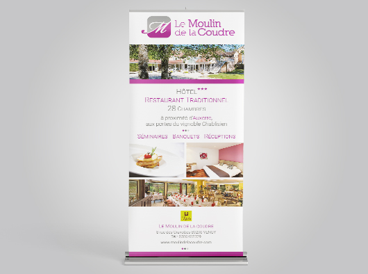 Le Moulin de la Coudre - Roll-up